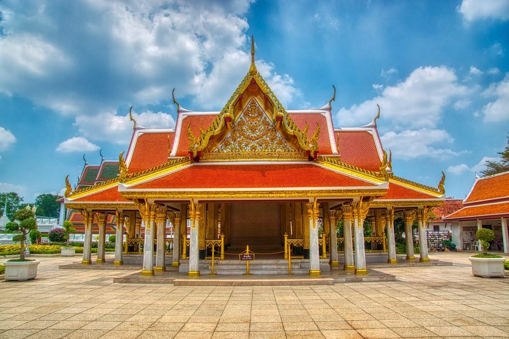 Royal Pavilion Mahajetsadabadin on Rattanakosin island (Old Town) in Bangkok, Thailand