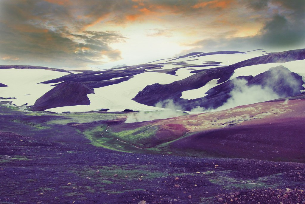 Iceland ~ Landmannalaugar Route ~  Ultramarathon is held on the route each July - EXPLORE-