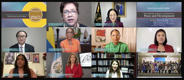 Central America-2021-03-27-Regional First Ladies Webinar Attracts Over 9,000 Viewers