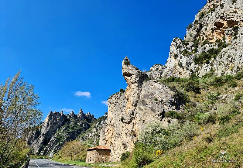 Camino de Santiago, Vía de Bayona en el desfiladero de Pancorbo (14)