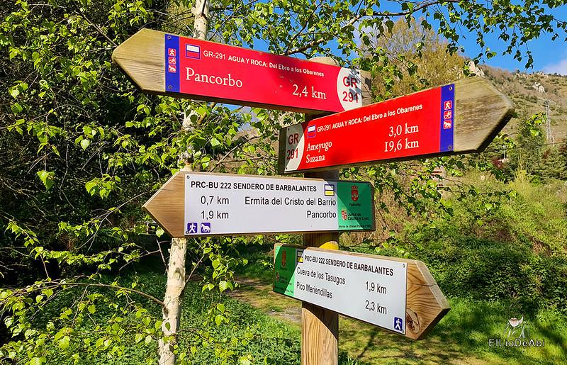 Camino de Santiago, Vía de Bayona en el desfiladero de Pancorbo (5)