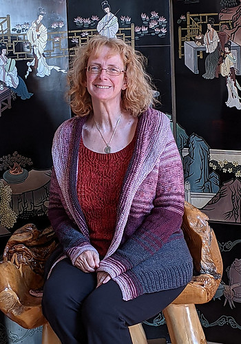 Linda (lmcnorton) finished her Comfort Fade Cardi by Andrea Mowry!