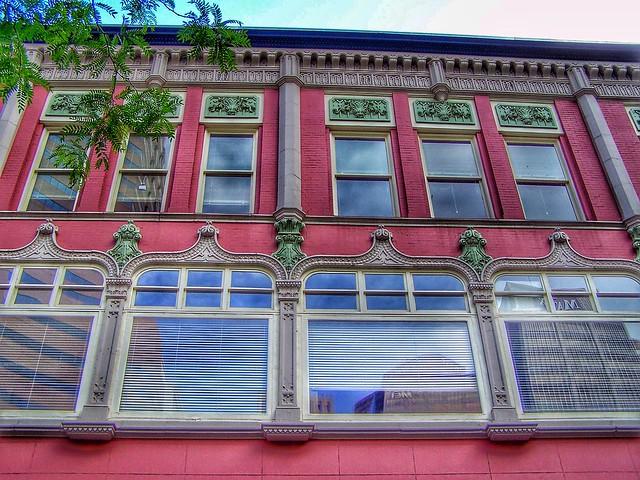 Denver  Colorado  ~ McClintock Facade Building - Historic Commercial Building