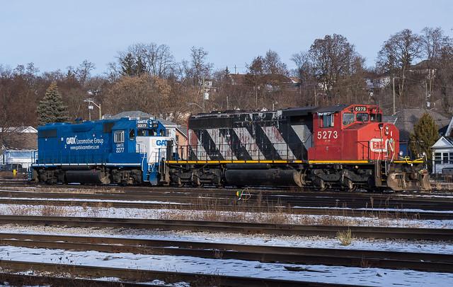 Brantford SD40-2W
