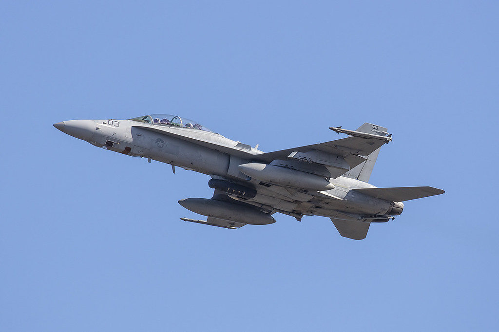 165531, McDonnell Douglas FA-18D(RC) US Marine Corps @ MCAS Iwakuni IWK RJOI
