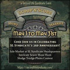 Scoop'n'Score - SL Syndicate 3rd Anniversary Celebration!