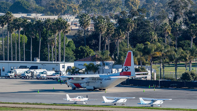 US Coast Guard C-130