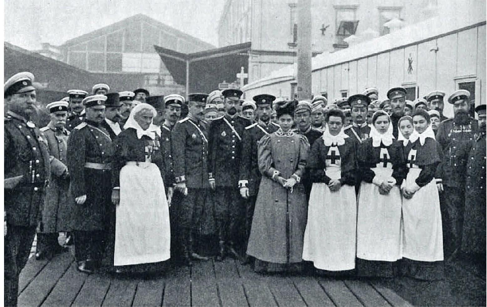 1905. Санитарный поезд им.великой княгини Ксении Александровны. 16 августа