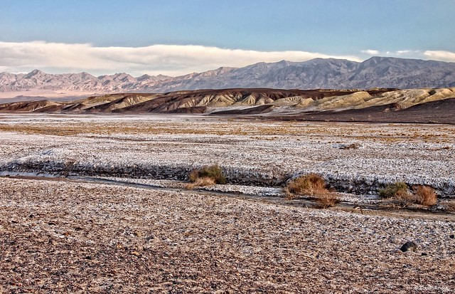 Extreme Land, View from Borax Works, Death Valley NP, California