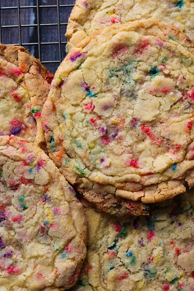 Pan-Banging Funfetti Sugar Cookies