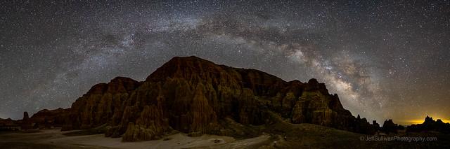 Milky Way Arch for Dark Sky Week