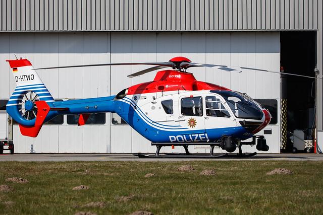 Hamburg Airport: Polizei Hamburg | Airbus Helicopters H135 EC35 | D-HTWO | MSN 0343