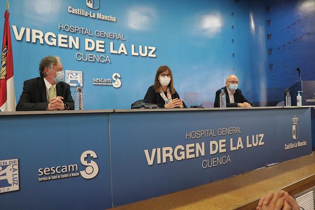Presentación del nuevo gerente de Atención Integrada de Cuenca
