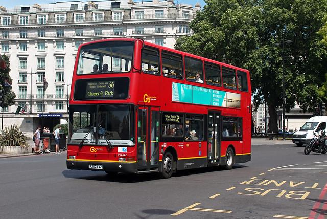 Route 36, Go Ahead London, PVL322, PJ52LVZ