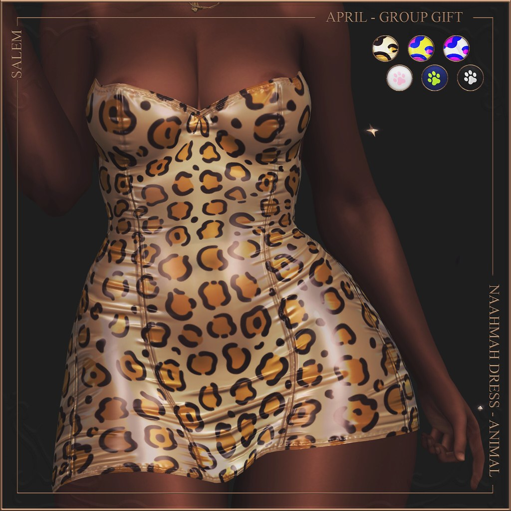 [Salem] Naahmah Dress - April Group Gift