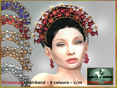 Bliensen - Printemps - Hairband