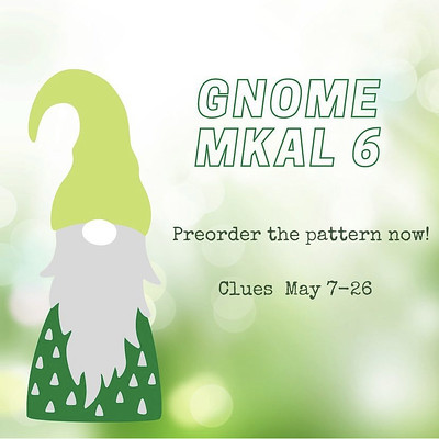 Gnot Just Another Gnome by Sarah Schira! Another dose of whimsy and charm! Another doable mystery for your needles! And this one has gnotwork! 40% off with the code GnottyGnomes for the first 3 days only!
