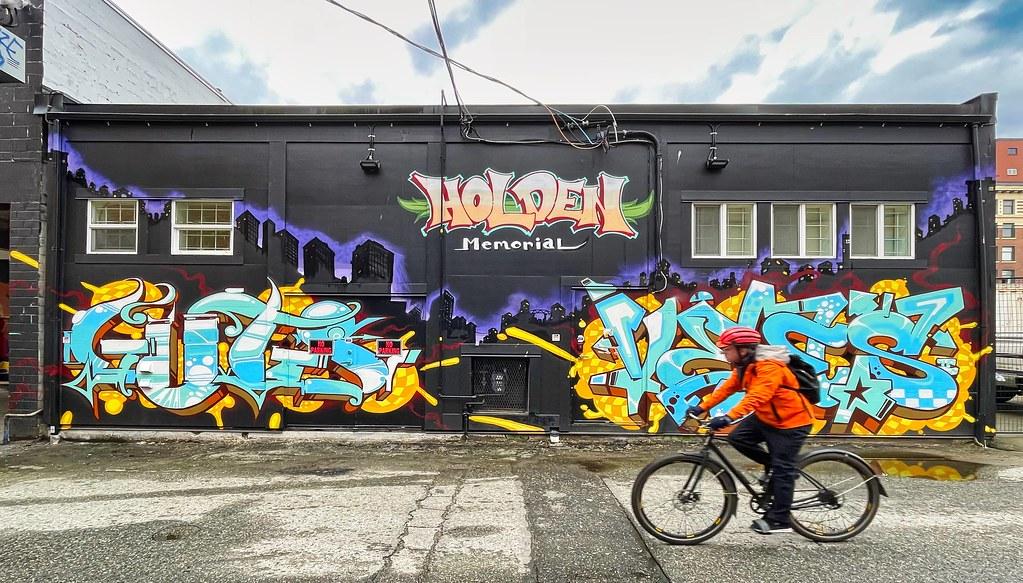 2021 - Vancouver - Holden Courage Memorial