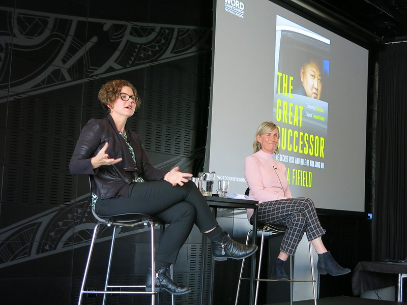 Anna Fifield and Jo Malcolm