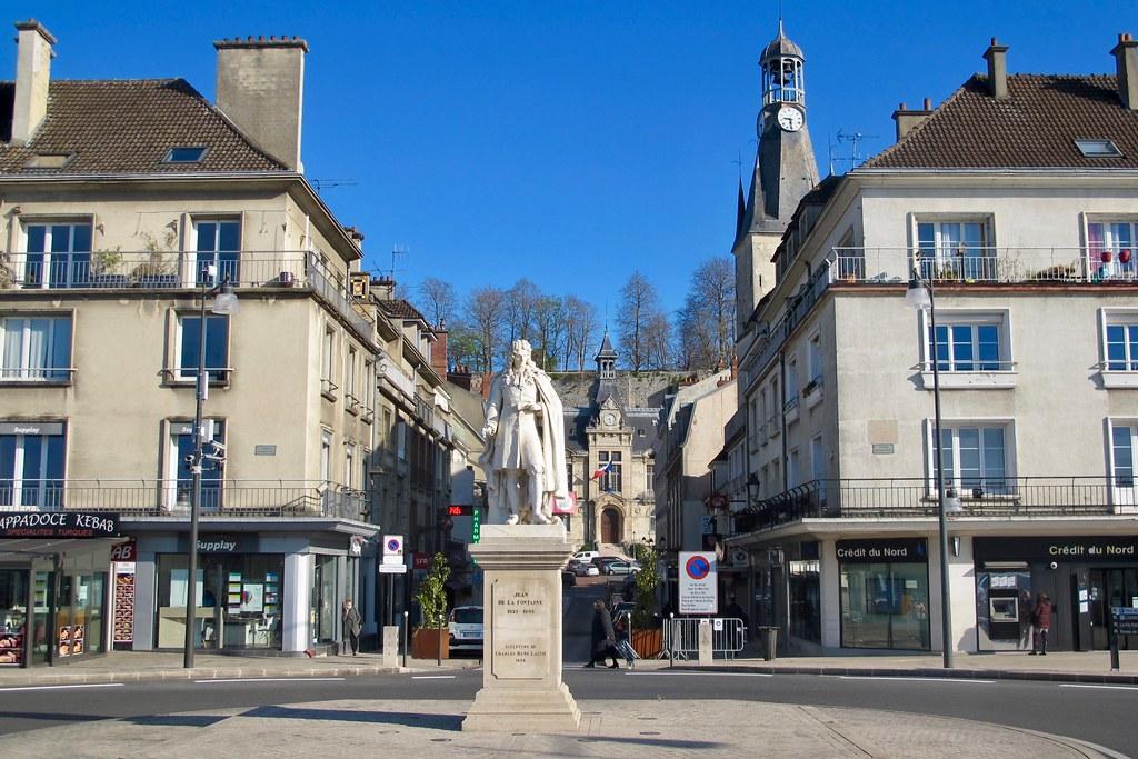Château-Thierry, ville natale de Jean de la Fontaine