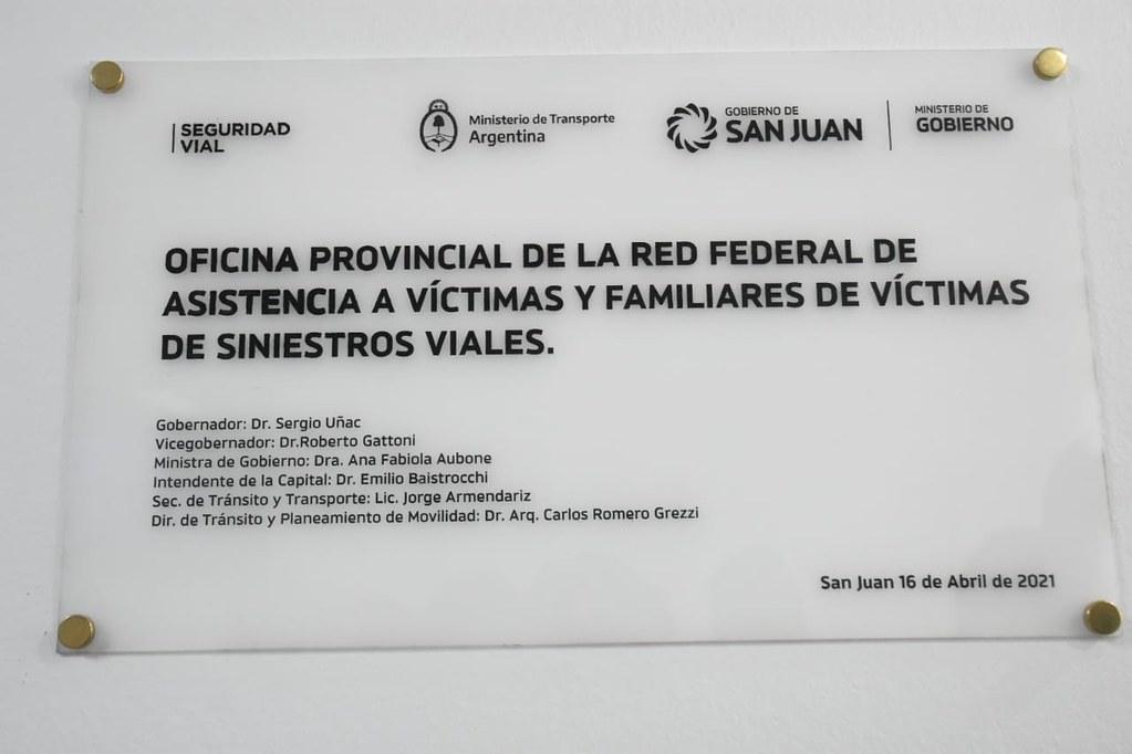 2021-04-16 GOBIERNO: Oficina Red Federal Víctimas