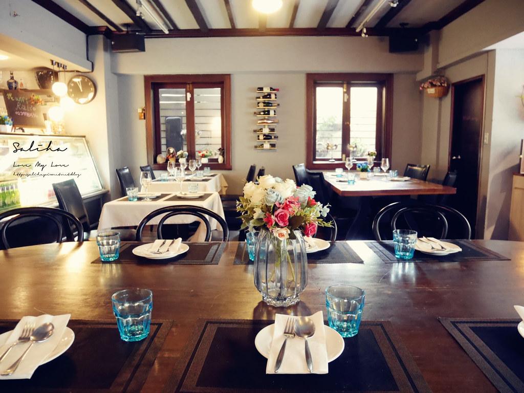 台北國父紀念館餐廳Osteria Rialto雅朵義大利餐館台北東區美食餐廳 (3)