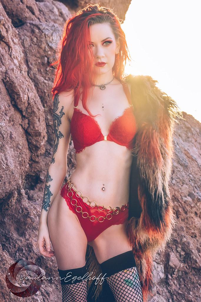Red in the Desert