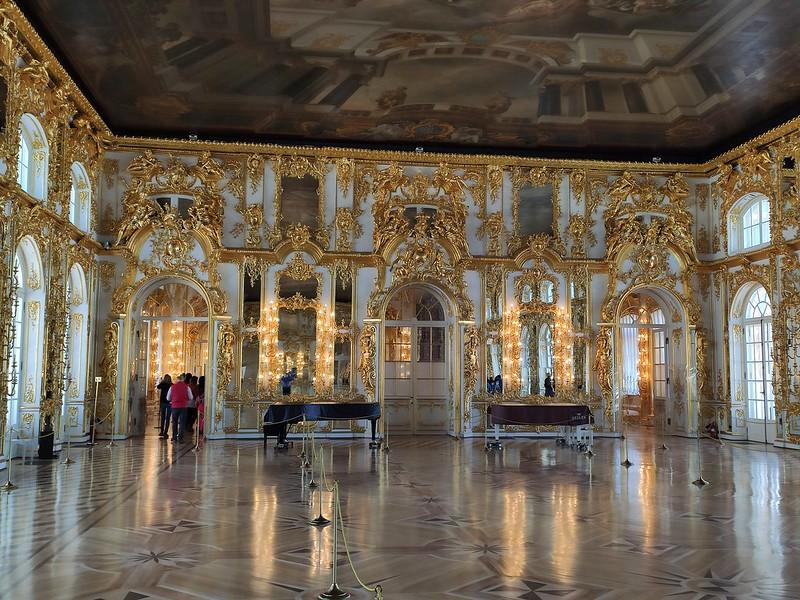 Пушкин - В залах Большого Екатерининского дворца