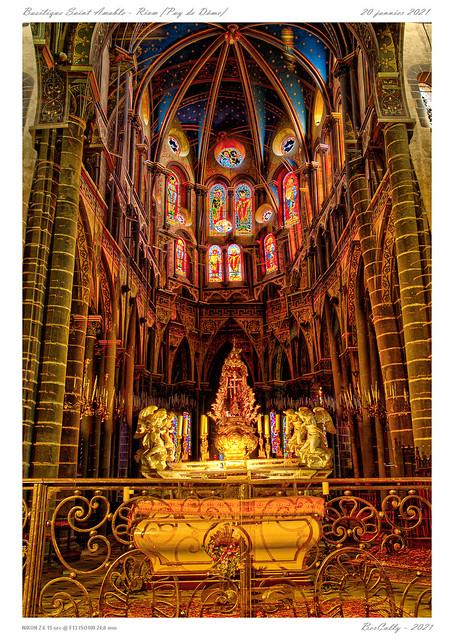 La basilique Saint-Amable - Riom - Puy de Dôme
