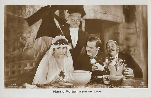 Henny Porten, Ralph Arthur Roberts, Walter Jankuhn, and Hermann Vallentin in Lotte (1928)