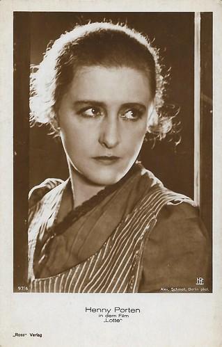 Henny Porten in Lotte (1928)