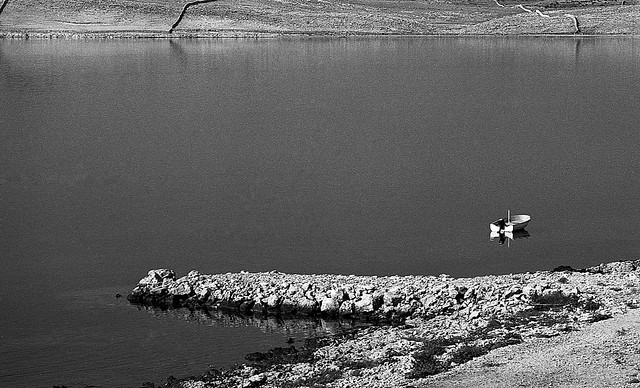 Dead calm in the Bay, Island of Pag