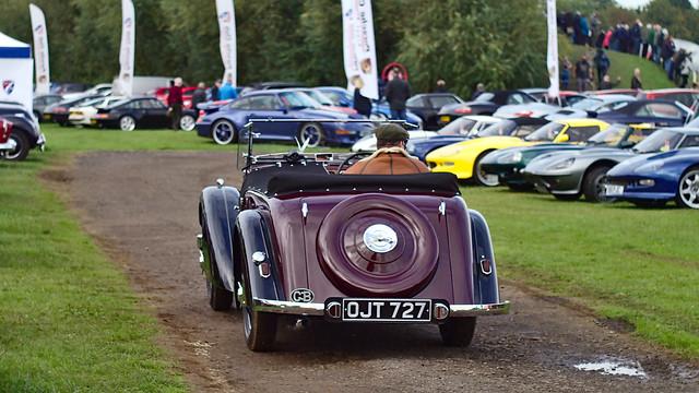 Alvis 12/70 Type 2 Anderson tourer 1939