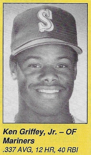 1990 All-Star Program Inserts - Griffey Jr, Ken