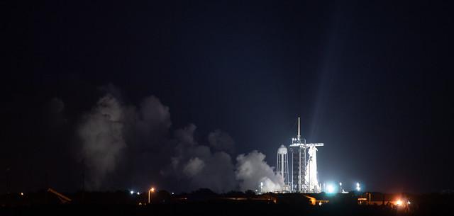 SpaceX Crew-2 Static Fire (NHQ202104170003)