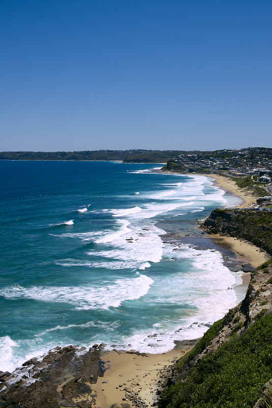 Susan Gilmore Beach and Merryweather Beach, ANZAC Walk, Newcastle