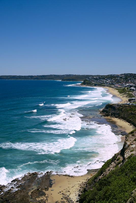 Susan Gilmore Beach and Merryweather Beach, ANZAC Walk, Newcastle