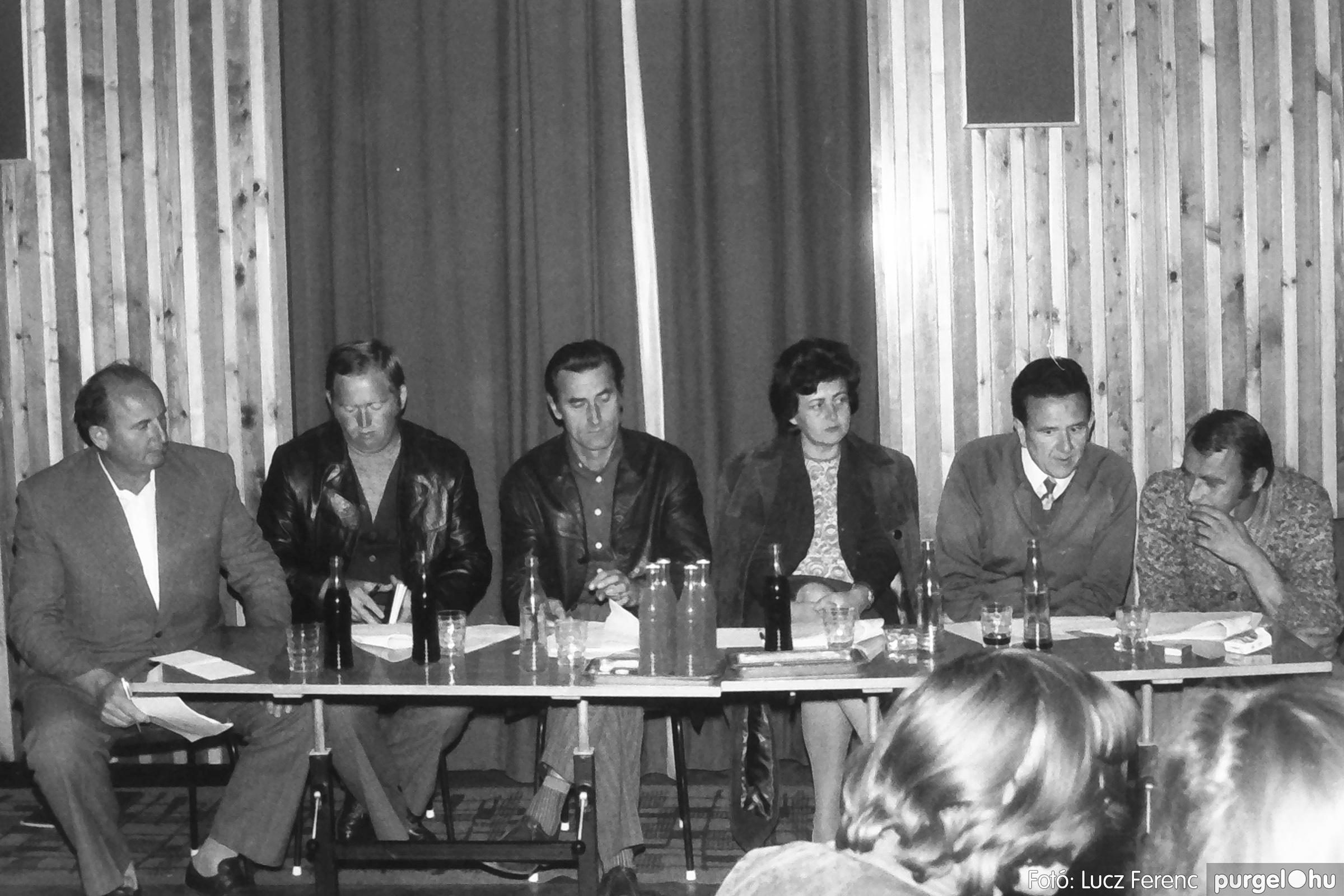 090. 1977. Puskin TSZ szocialista brigád vetélkedője 007. - Fotó: Lucz Ferenc.jpg