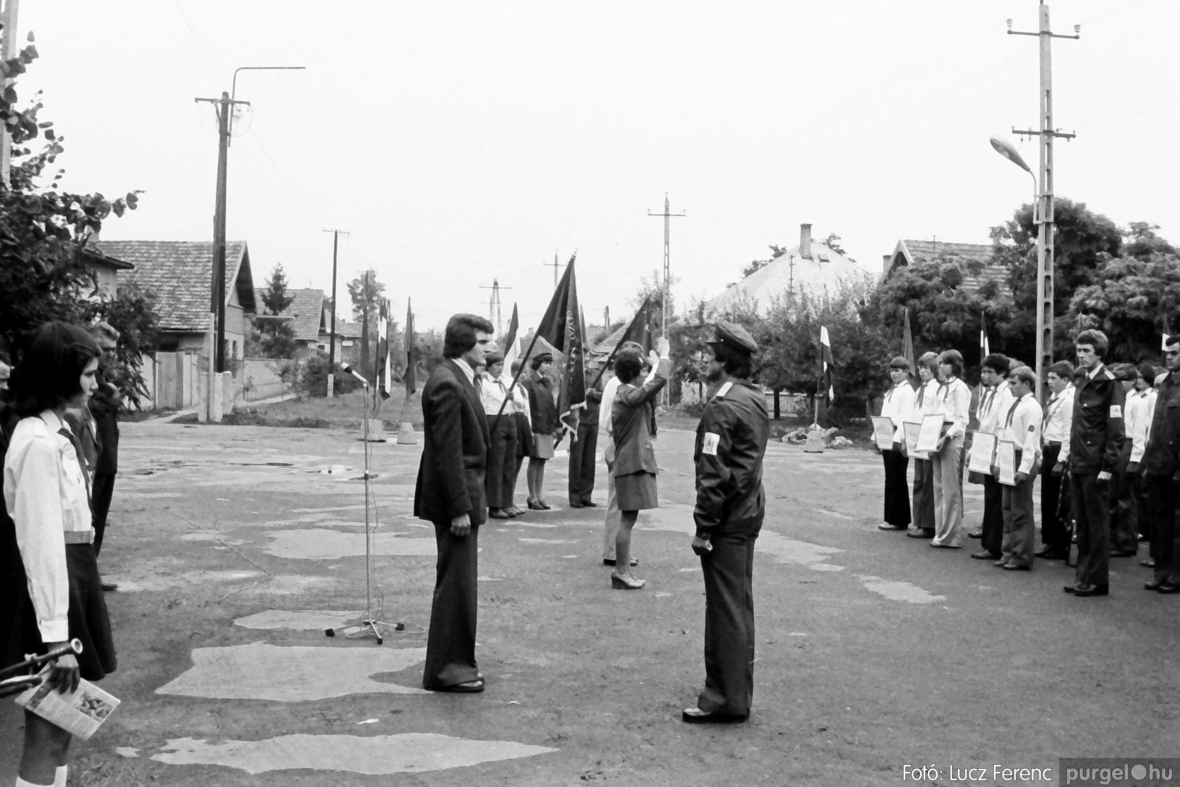 090. 1977. Úttörő gárda - ifjú gárda seregszemle 018. - Fotó: Lucz Ferenc.jpg