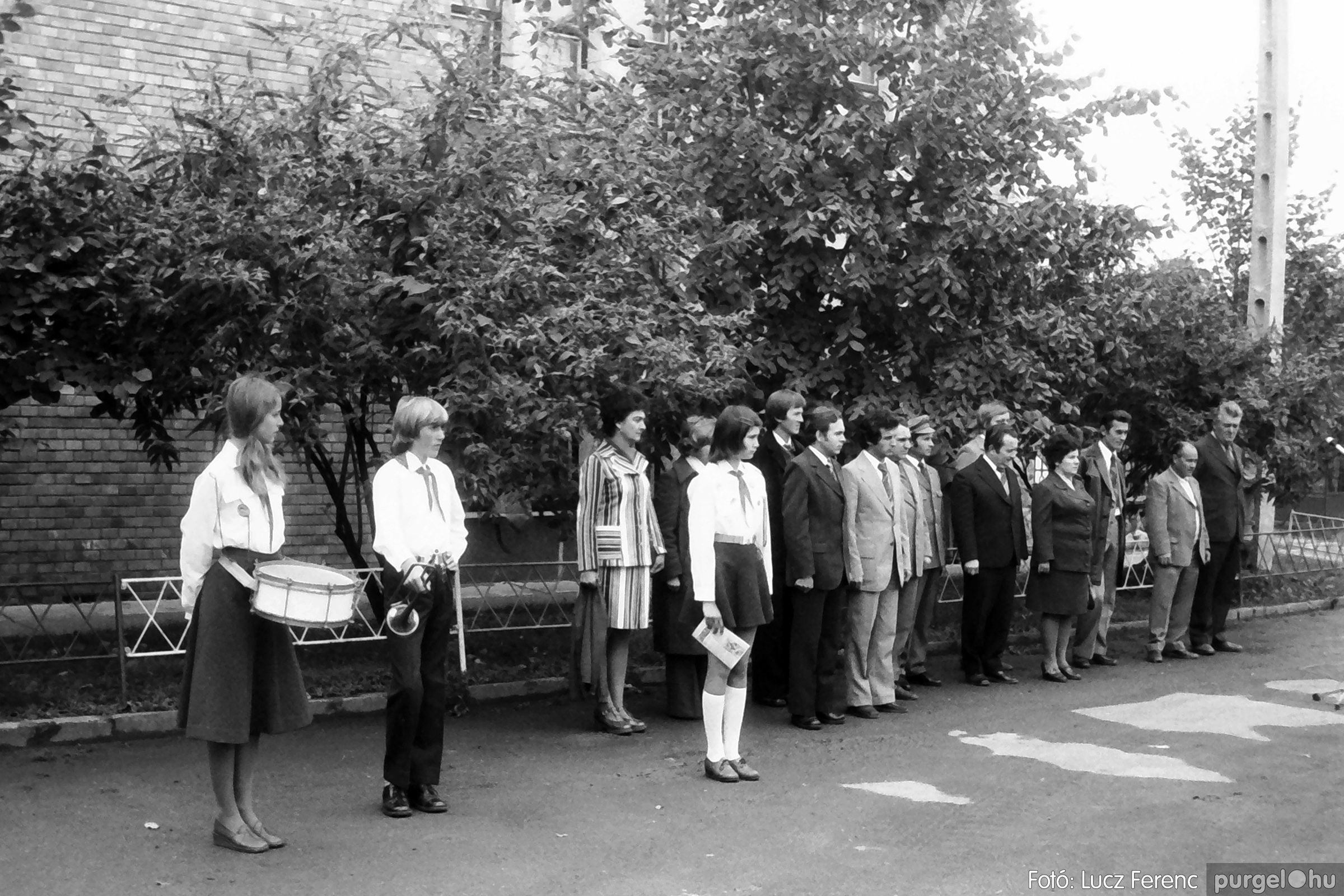 090. 1977. Úttörő gárda - ifjú gárda seregszemle 019. - Fotó: Lucz Ferenc.jpg