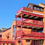 Converted warehouse at Preston Docks