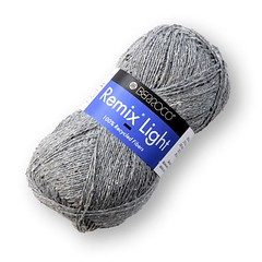 Berroco Remix Light, a lighter weight version of Berroco Remix is the same wool-free yarn made of 100% recycled fibers that you love to knit and crochet.