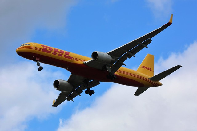DHL Air B757F undertaking new Captains Touch and Go's EMA