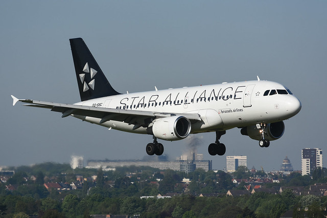 OO-SSC Airbus A319-112 EBBR1 4-05-19