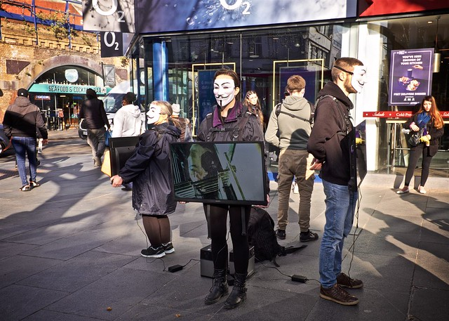 Cube of Truth Demonstration, Brixton