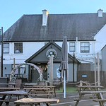 The beer gardens of the Heskeths Arms, Preston