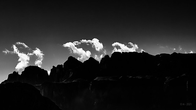 Dark Mountains and dancing Clouds...