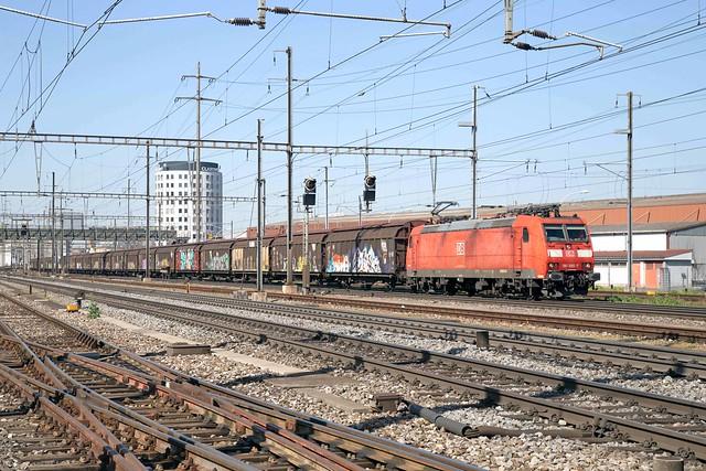 DB Cargo 185 095 Pratteln