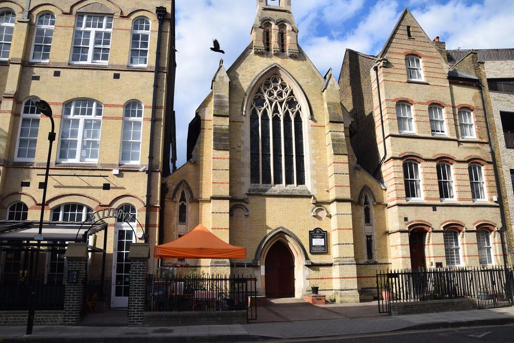 DSC_9425 Catholic Church of St Monica Hoxton Square Shoreditch London