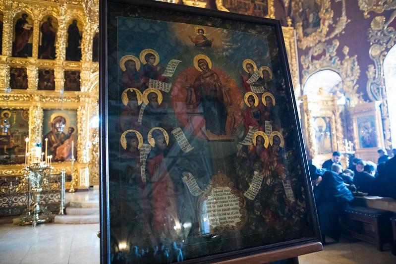 16-17 апреля 2021, Похвала Пресвятой Богородицы / 16-17 April 2021, Akathist to the Most Holy Theotokos